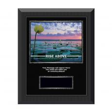 Rise Above Gunmetal Individual Award Plaque