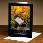 Trust Bridge 25-Pack Greeting Cards