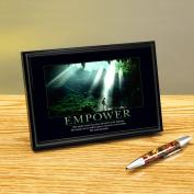 Empower Cave Framed Desktop Print
