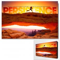 Modern Motivational Art - Persistence Runner Motivational Art