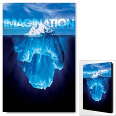 Modern Motivational Art - Imagination Iceberg Motivational Art