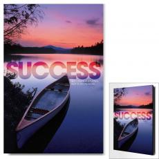 Modern Motivational Art - Success Canoe Motivational Art