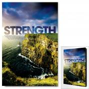 Strength Cliff Infinity Edge Wall Decor