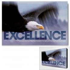 Excellence Eagle Infinity Edge Wall Decor