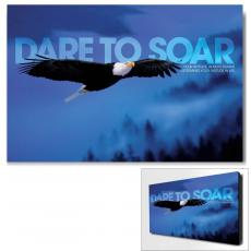 Modern Motivational Art - Dare To Soar Motivational Art