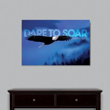 Dare To Soar Motivational Art