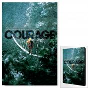Courage Infinity Edge Wall Decor