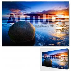 Attitude Boulder Infinity Edge Wall Decor