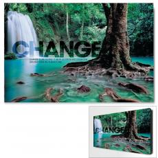 Modern Motivational Art - Change Forest Falls Motivational Art