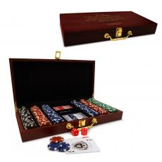 New Products - Executive Personalized Poker Set