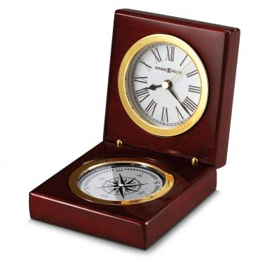 Personalized Clock & Compass Duo