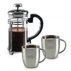 New Drinkware - Personalized Espresso Gift Set