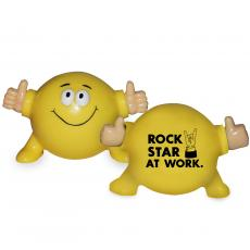 Stress Relievers - Rockstar at Work Thumbs Up Poppin Pal