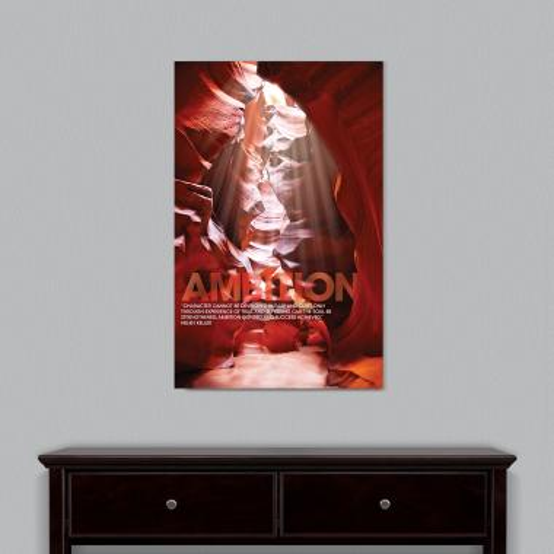 Ambition Canyon Motivational Art