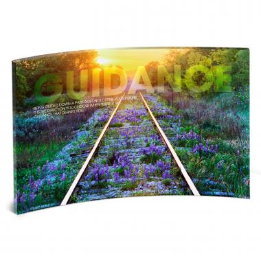 Guidance Railroad Tracks Motivational Art
