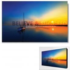 All Motivational Posters - Believe & Succeed Sailboat Motivational Art