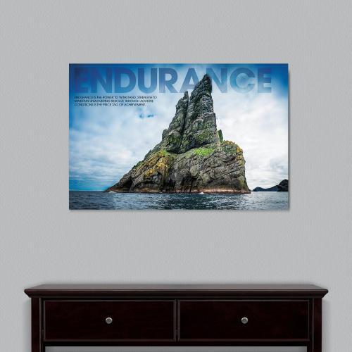 Endurance Island Motivational Art