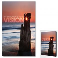 Modern Motivational Art - Vision Driftwood Motivational Art