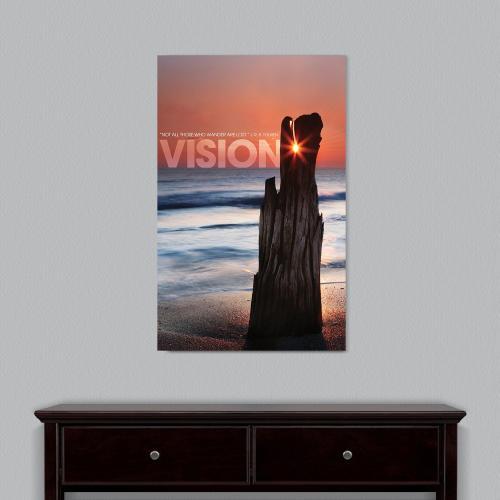 Vision Driftwood Motivational Art