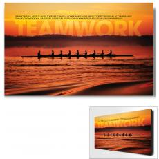 Modern Motivational Art - Teamwork Crewing Motivational Art