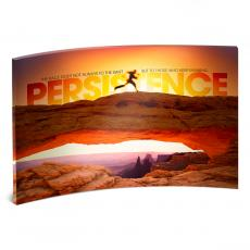 Desktop Prints - Persistence Runner Curved Desktop Acrylic