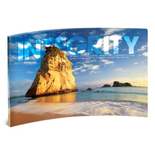 Integrity Rock Curved Desktop Acrylic