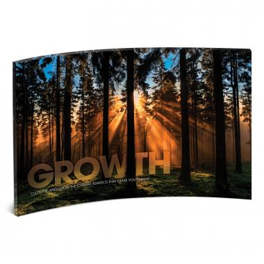 Growth Forest Curved Desktop Acrylic