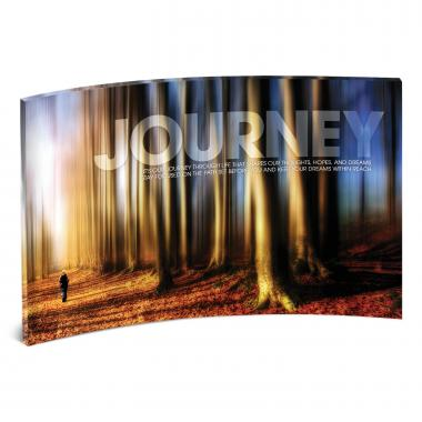 Journey Path Curved Desktop Acrylic