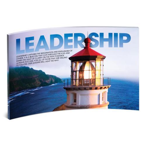 Leadership Lightouse Curved Desktop Acrylic