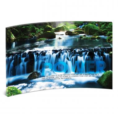Power Waterfall Curved Desktop Acrylic