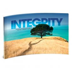 Acrylic Desktop Prints - Integrity Tree Curved Desktop Acrylic