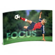Entire Collection - Focus Soccer Curved Desktop Acrylic