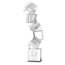 Building Blocks Crystal Award