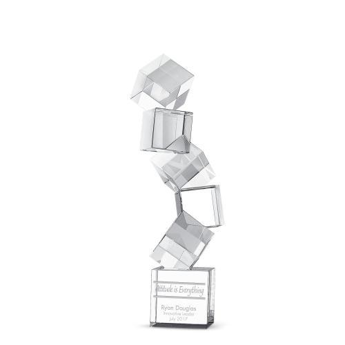 Building Blocks Crystal Award
