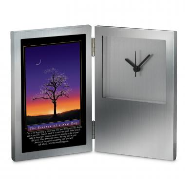 Essence of a New Day Desk Clock