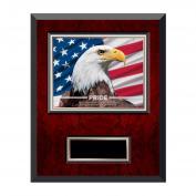 Pride Eagle Rosewood Individual Award Plaque