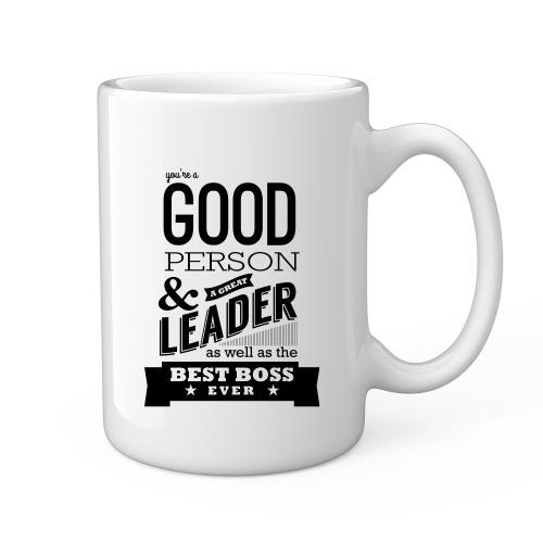 Best Boss Ever 15oz Ceramic Mug