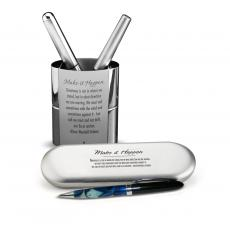 Gift Pens - Make It Happen Chrome Pen Gift Set