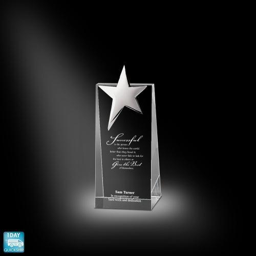 Super Star Tower Crystal Award