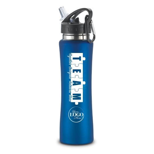 Teamwork Puzzle Flip-Top 26oz Water Bottle