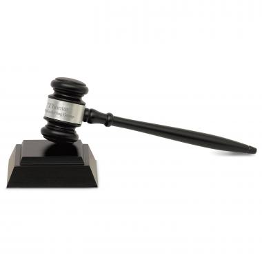 The Executive Personalized Gavel Set