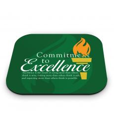 New Themes - Commitment to Excellence Mouse Pad