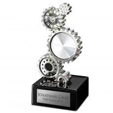 Clocks - Personalized Gear Clock Award