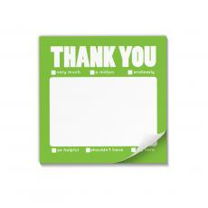 Note Cubes - Thank You Motivational Sticky Notes