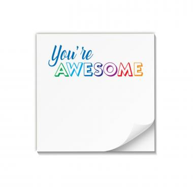 Awesome! Praise Pad Sticky Notes