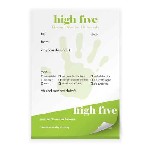 High Five Praise Pad
