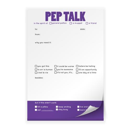 Pep Talk Praise Pad