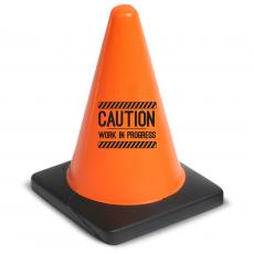 New Fun Motivation - Work in Progress Safety Cone Stress Reliever