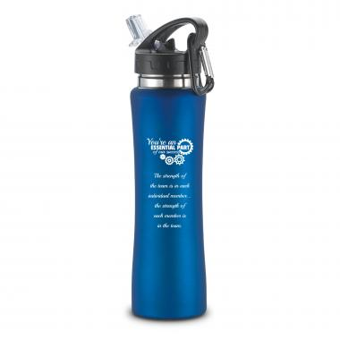 You're An Essential Part Flip-Top 26oz Water Bottle