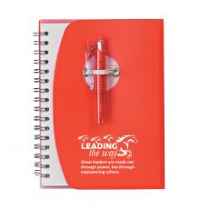 New Products - Leading the Way Notebook and Pen